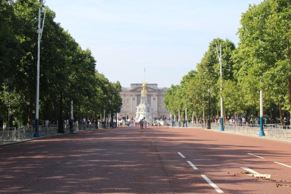 Été 2017 à Londres : jour 3, Trafalgar Square, The Mall, Buckingham Palace, l'Abbaye de Westminster, Big Ben & LondonEye
